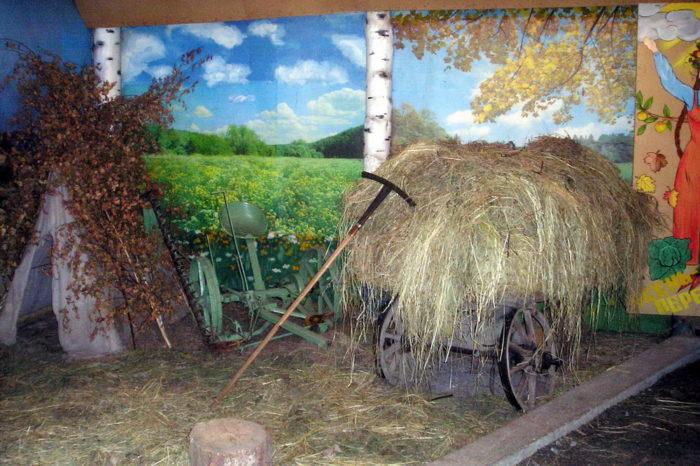 Село Коптелово: изба бабы Кати