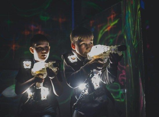 Лазертаг в Екатеринбурге