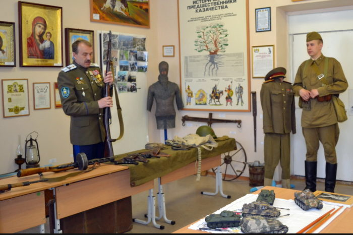 Ревда. Демидов центр и музей истории казачества