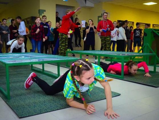 Квест в детском центре развлечений «Тактика-милитари»