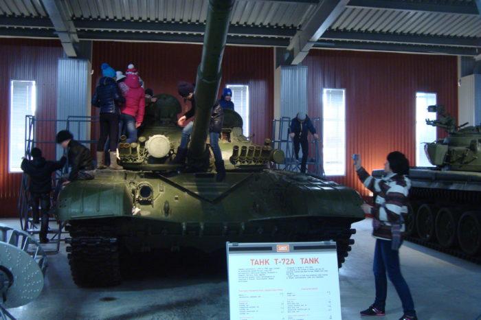 Экскурсия в Нижний Тагил: музей танков, музей Черепановых, гора Белая (сборные группы)
