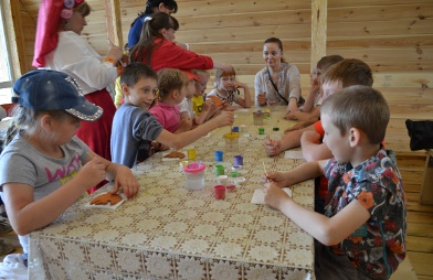 Сказочная игровая программа в д. Нижние Таволги «День рождения Бабы Яги»