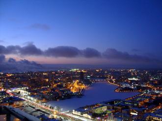 Смотровая площадка на небоскрёбе «Высоцкий»